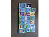 20 Peppa pig dvds all in good condition, my girls have just outgrown them xx
