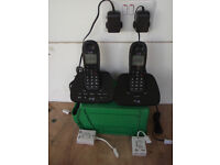 Cordless two station phone