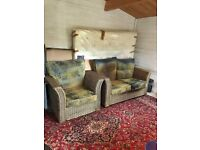 Conservatory Furniture Set, 1 X Double Sofa and 1 X Single Chair