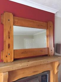 beautiful Wooden mirror