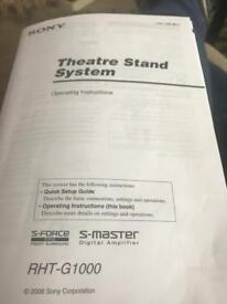 Sony Theatre Stand System