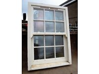 Sash and case timber window