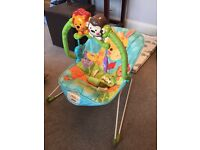 Fisher Price precious planet bouncer - immaculate condition