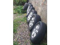 Subaru Forester wheels & tyres
