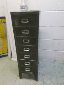 1950S SMALL FILING CABINET / DRAWERS