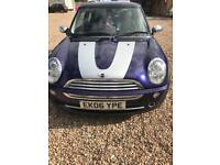 Mini one 2006 06 reg