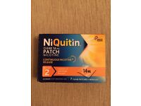 Niquitin stop quit smoking patches stage 2