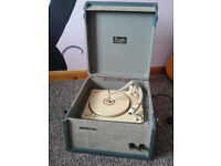 Trixette portable record player turntable 1960s working condition