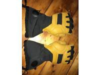 Black diamond goretex winter gloves - XS