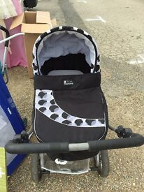 Two in one pram for sale really good condition only used for a few months