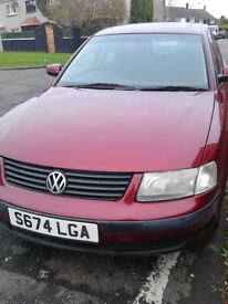VW PASSAT 1.8 MOT 1 YEAR