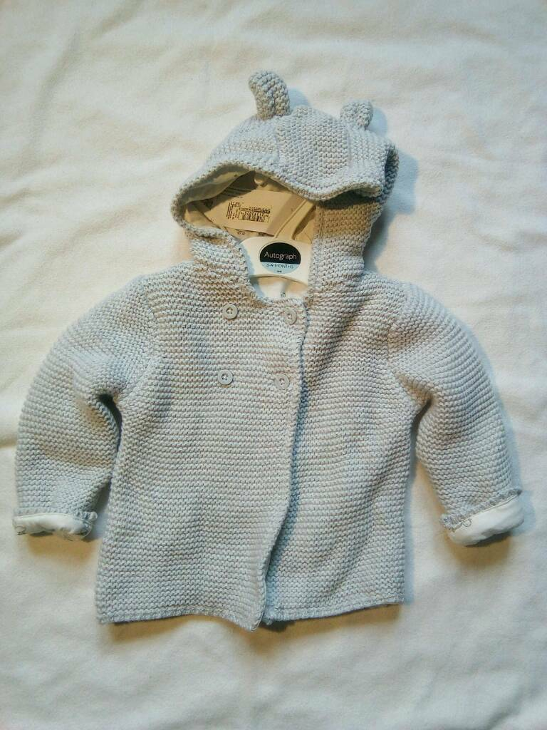 9807e4a6f BNWT lined cotton cardigan 9-12 months