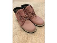 Timberland boots in pink