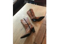 Russell & Bromley mid length calf boots