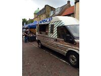 Food truck,catering van