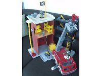 Fisher price fire station (imaginex)