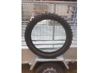 Off road mc4 Metzeler front tyre for sale