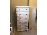 drawers tallboy laura ashley bedroom tall