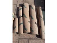 Underlay Treadaire willow green Plus Used approx 18square metres