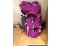 50L Backpack Forclaz Easy Fit WOMEN'S HIKING RUCKSACK