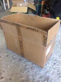 Cardboard boxes 10no