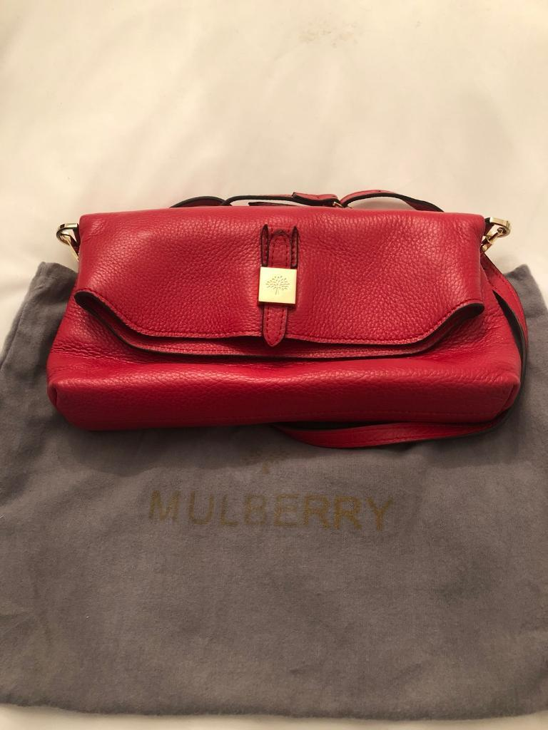 43dbf6eccc spain red mulberry bag 1fad8 87fc7