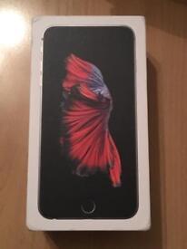 Apple iPhone 6s Plus space grey 64gb free case belkin unlock