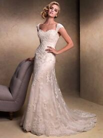 Maggie Sottero Emma Wedding Dress Size 10