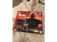 Playstation 4 1 Terabyte Black OPs Limited Edition