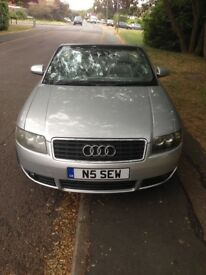 Audi A4 convertible cabriolet manual