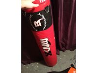 5ft mad x punchbag with wall mount