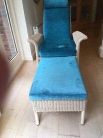 """CHAISE-LONGUE GARPA """"SAVANNAH"""" CHAIR WITH PULL-OUT FOOTREST"""