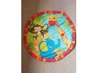 Bright starts play mat for sale