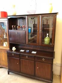 Light mahogany wall unit