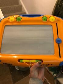 Tomy Magnetic drawing board.