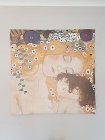 Lovely Gustav Klimt canvas picture only £20