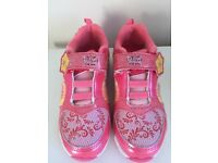 Disney elena of Avalor Girls Trainers Size 11 NEW