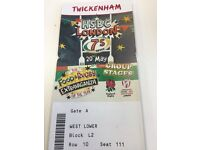 HSBC Rugby 7's - Saturday (Twickenham) - great seats and 6 tickets in a row - West Lower Block L2