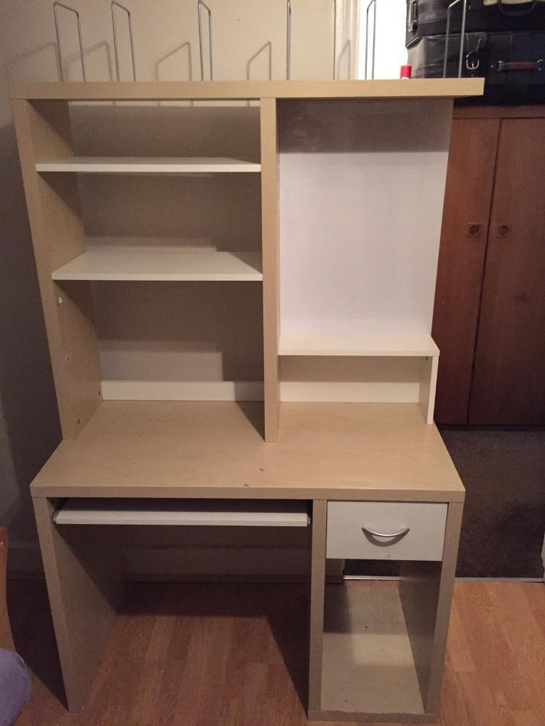 Great condition study table / storage cabinet for sale