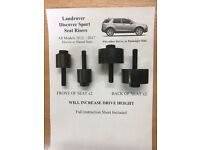 Landrover Discovery Sport Seat Risers