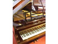 """Bluthner 5'6"""" grand piano. In lovely condition with rosewood case. Fully serviced and tuned."""