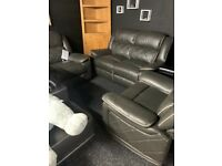 New Leather recliner 2/1/1 suite-only £880