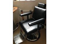 Barbers chair and styling unit