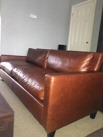 Nearly new Habitat Chester 3 seater sofa, £1995.00 RRP