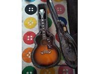 Epiphone EJ200CE acoustic guitar