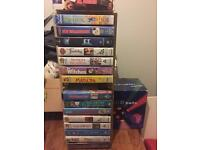 Selection of children's videos vhs, free to uplift
