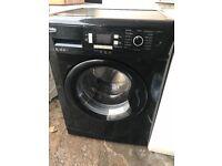 BEKO BLACK 8KG WASHING MACHINE