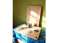 Atacama Evoque Eco 60-40 Special Edition - Hi-Fi Stand - 2 x Shelves - Natural Bamboo Finish