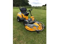 Stiga Park Pro 4wd ride on mower (price includes vat).