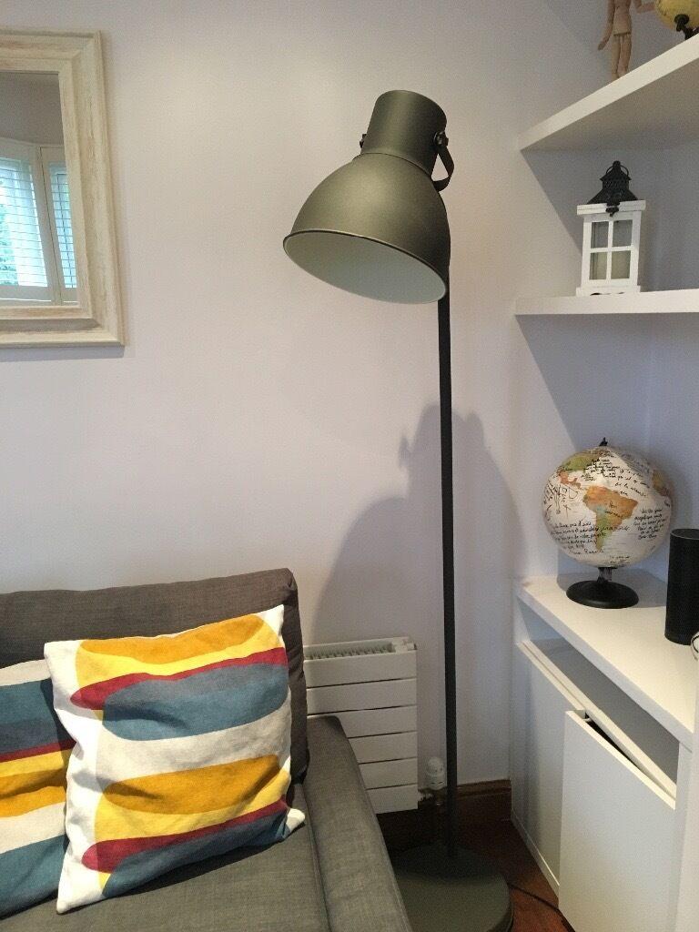 floor lamp ikea hektar in acton london gumtree. Black Bedroom Furniture Sets. Home Design Ideas